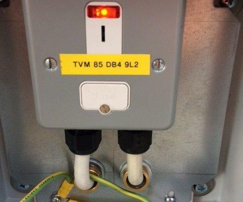 DLR TVM Upgrade works